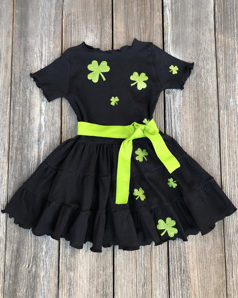 St. Patricks Day Girl Dress