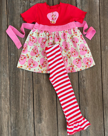 Strawberry Shortcake Girl Outfit