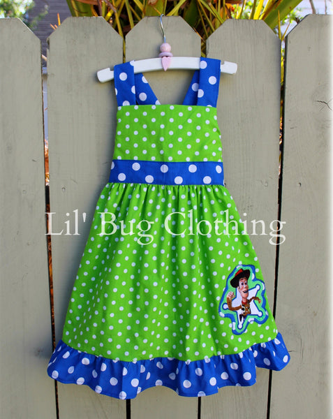 Toy Story Wooody Girl Dress