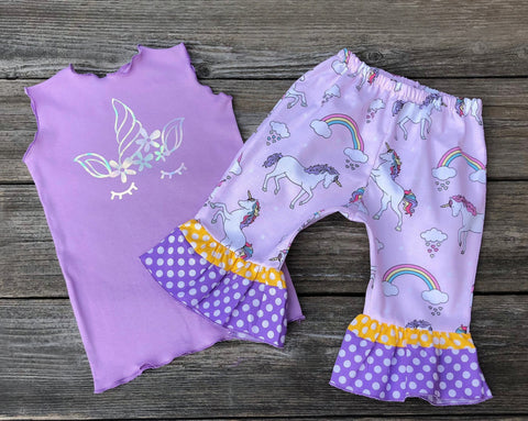 Unicorn Boutique Girl Outfit