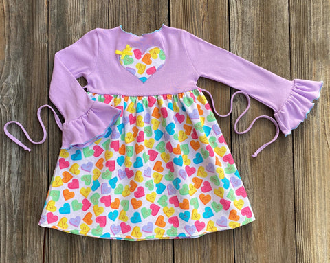 Valentines Day Candy Hearts Dress