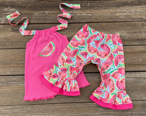 Boutique Girl Watermelon Outfit