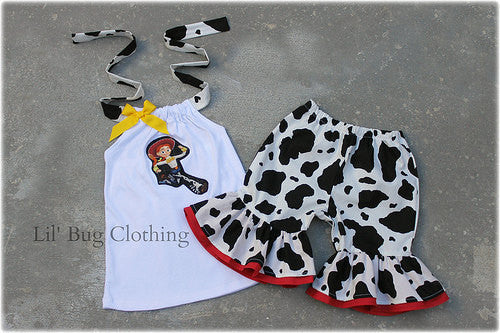 Toy Story Jessie Short And Halter Summer Outfit