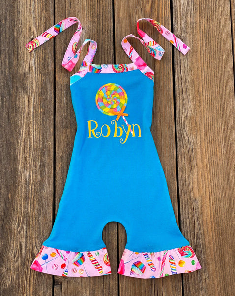 Lollipop Romper Outfit