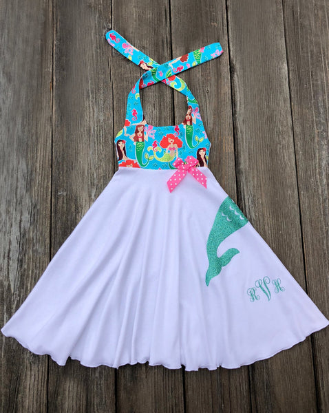 Mermaid Toddler Girl Dress