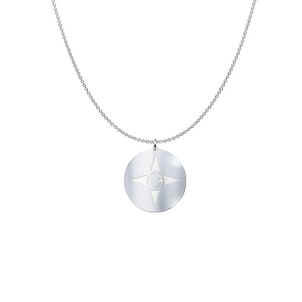 M*A*D*E* I*N*C* Sterling silver necklace.