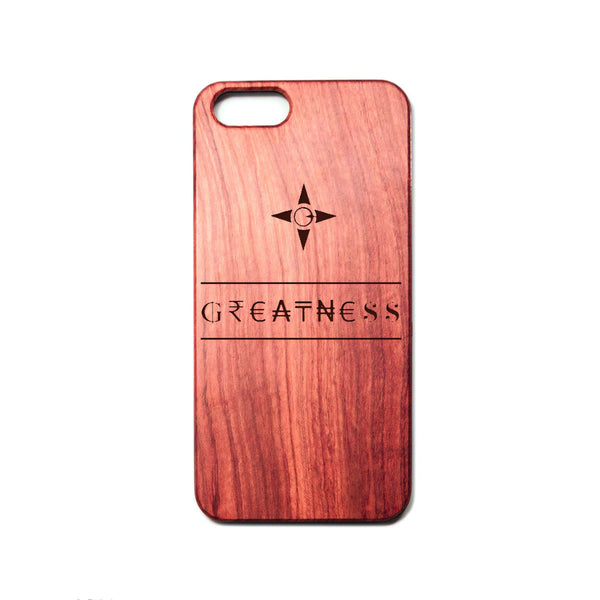 Greatness iPhone Case