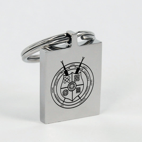 Family Crest Key Chain