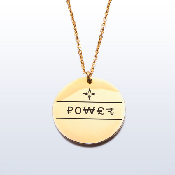 Power Pendant (Etched)