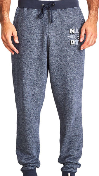 Men Denim Fleece Jogger
