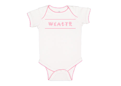 JWC Infant Wealth Body Suit