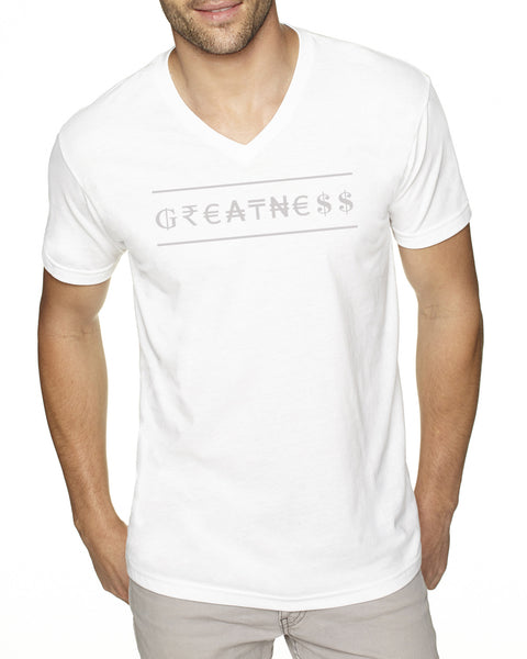 Sueded V-Neck - Greatness