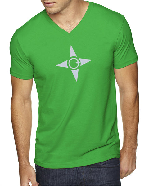 Sueded V-Neck - Made Logo