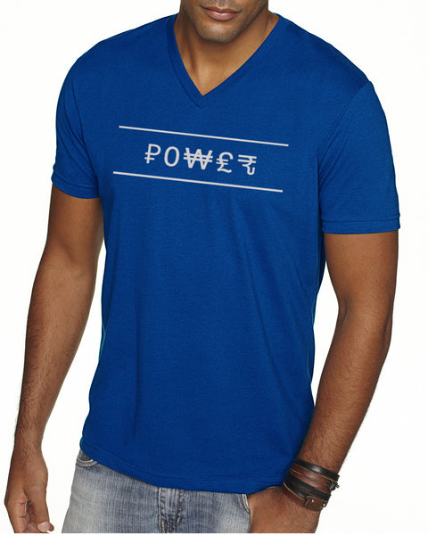 Sueded V-Neck - Power