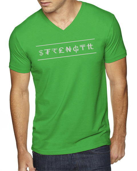 Sueded V-Neck - Strength