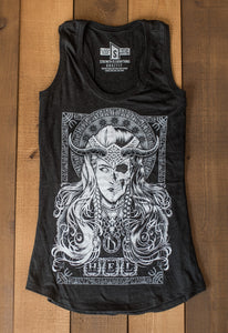 Hel, Racerback Tank, Ladies