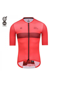 Skull Monton Cycling Jersey SUNDAY Red