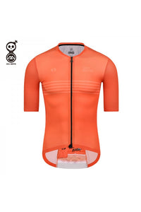 Skull Monton Cycling Jersey THURSDAY Orange