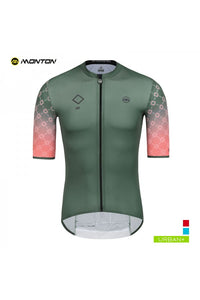 Monton Cycling Jersey Urban LIFE Green