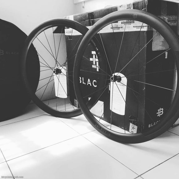 BLACK Inc FIFTY Clincher Wheels + Ceramic Speed Hubs & Bearings - Trevs Cycle Shop