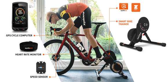 Xplova NOZA S - Interactive Smart Trainer | Powered By Acer - Trevs Cycle Shop