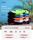 Santic Cycling Socks - High Intensity - Trevs Cycle Shop