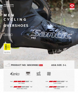 Santic Cycling Shoe Cover (Thermal Fleece Winter Windproof)