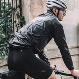 Santic Lightweight Black Rain Jacket