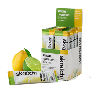 Skratch Labs Sport Hydration Drink Mix - Single Serving 20 Pack - Trevs Cycle Shop
