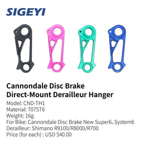 Sigeyi - Cannondale Disc Brake Direct-Mount Derailleur Hanger