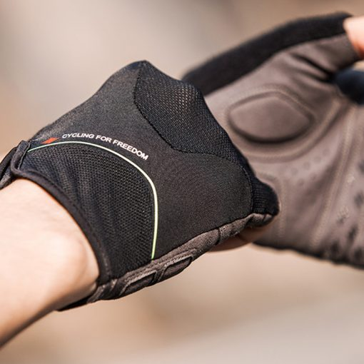 Santic Nicolai Black Cycling Gloves