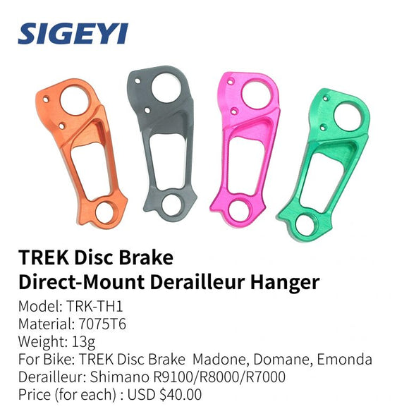 Sigeyi - TREK Disc Brake Direct-Mount Derailleur Hanger
