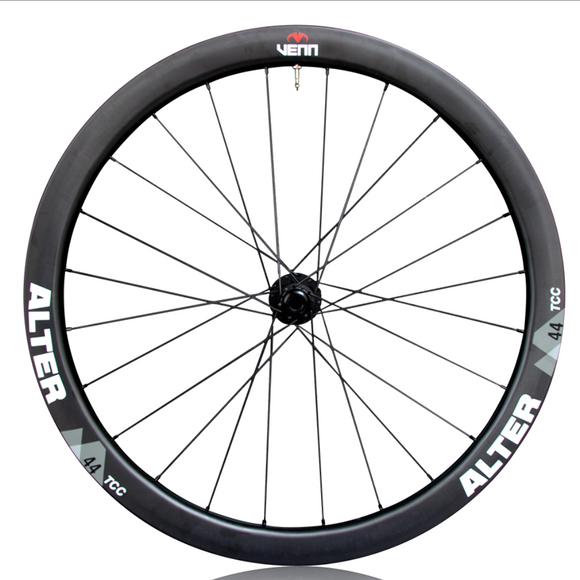 Venn Alter 44 TCC Tubeless Clincher Wheelset - Rim Brake