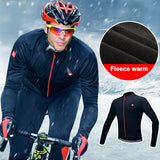 Santic Cycling Jersey Winter Thermal Polar Fleece - Trevs Cycle Shop
