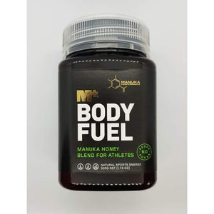 M+ Body Fuel - Manuka Honey Blend for Athletes - 500g - Trevs Cycle Shop