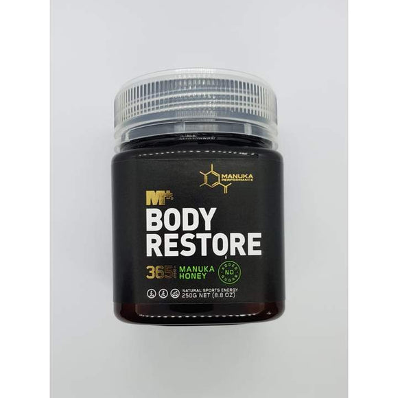 M+ Body Restore MGO 365 Pure Manuka Honey - 250g - Trevs Cycle Shop