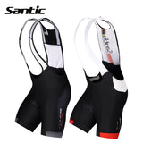 Santic 4D Padded Cycling Bibshorts - Trevs Cycle Shop