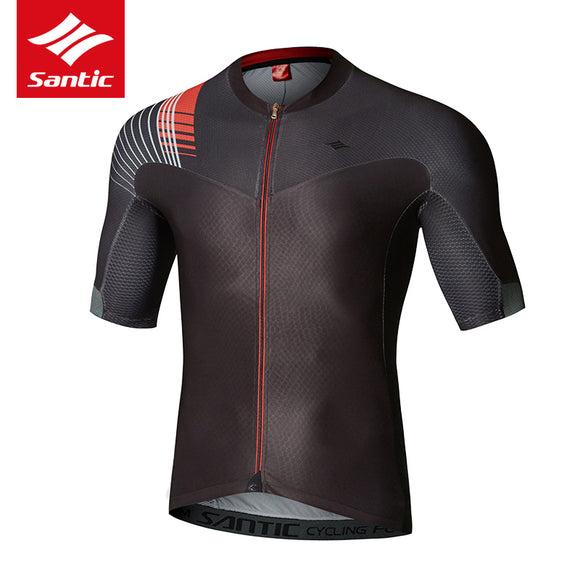 Santic Cycling Jersey Men - Short Sleeve Summer
