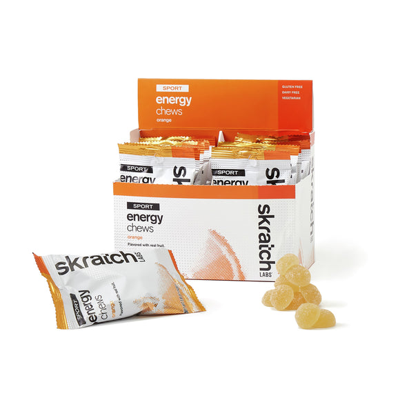 Skratch Labs Sport Energy Chews - 10 Pack or Single Serving - Trevs Cycle Shop