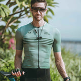 Skull Monton Cycling Jersey WEDNESDAY GrayGreen