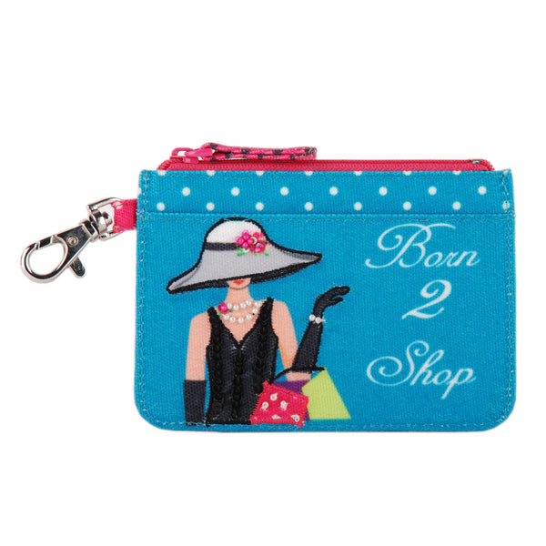 Born to Shop Card Wallet