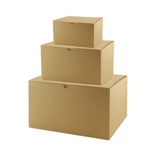 Brown Kraft Gift Boxes Rectangle - 1 Piece