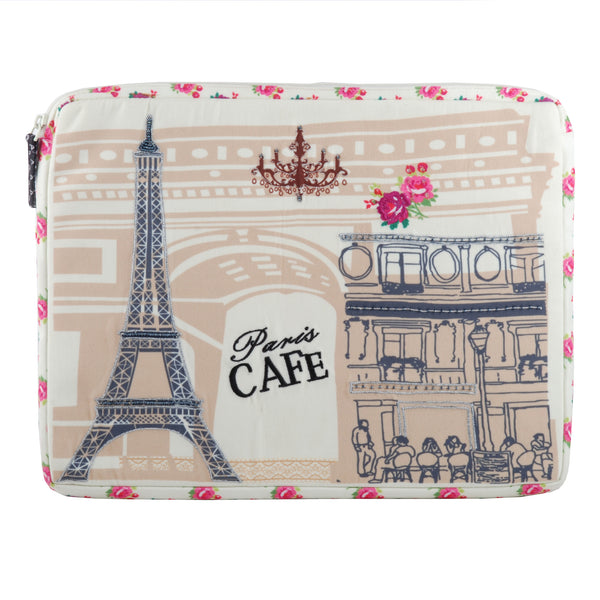 Paris Café Laptop Sleeve