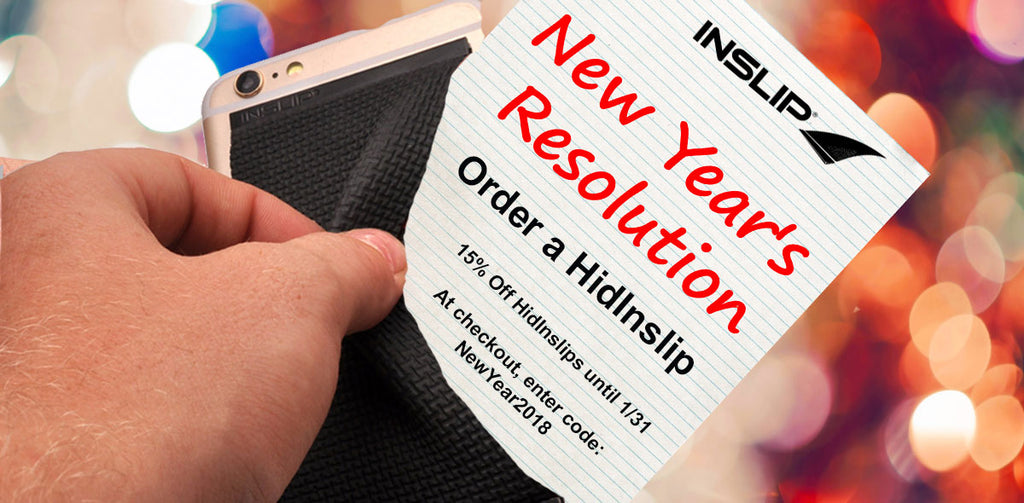 How to check off your 2018 resolutions with Inslip