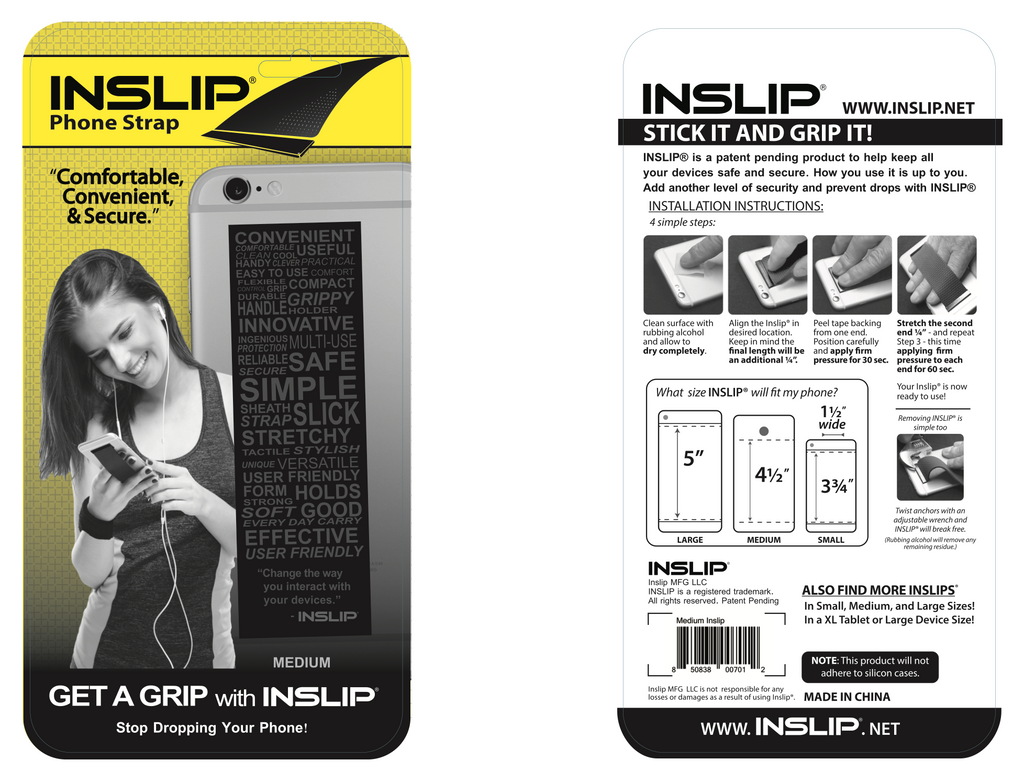 Inslip, Neoprene Medium