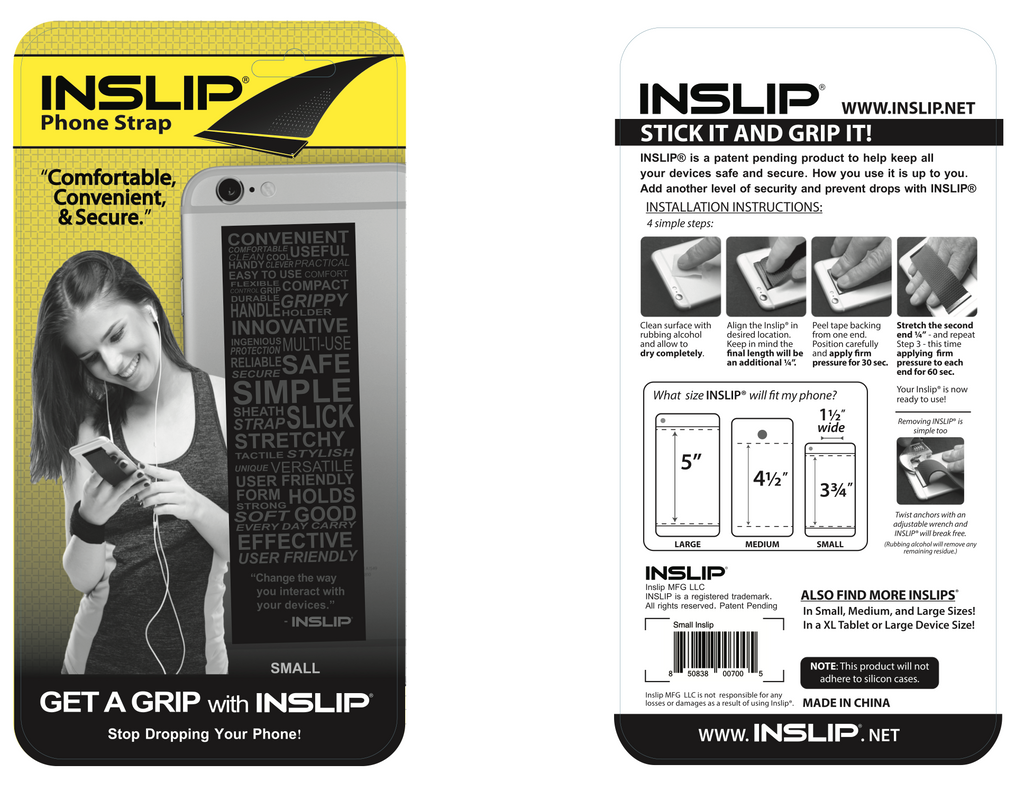 Inslip, Neoprene Small
