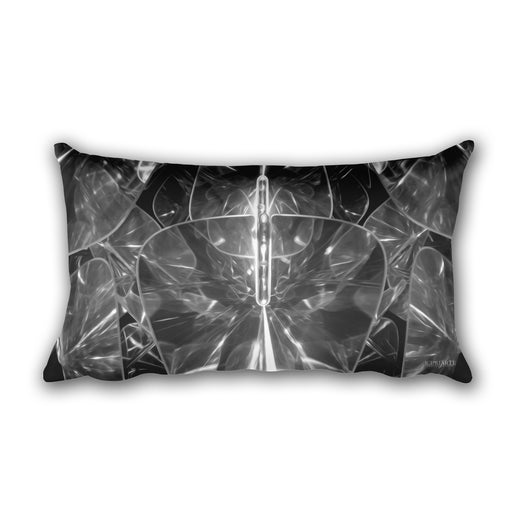 Abstract Rectangle Pillow
