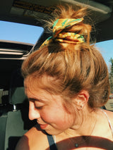 Sunflower Scrunchie Wrap