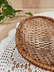 Oval Wicker Basket - VintageChameleon