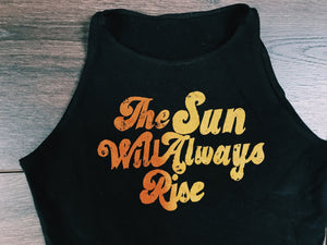 Sunrise Crop Top - VintageChameleon